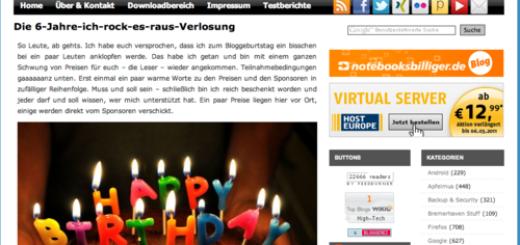 Blog-Tipp: Caschys Stadt-Bremerhaven.de feiert 6jähriges Bestehen!