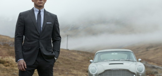 James Bond mit Aston Martin