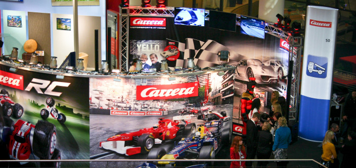 Carrera-Messestand Int'l Toyfair